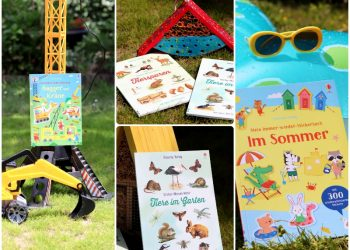 Sommerlicher Sticker-Spaß mit Usborne